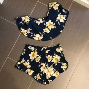 SHEIN two piece shorts and top set